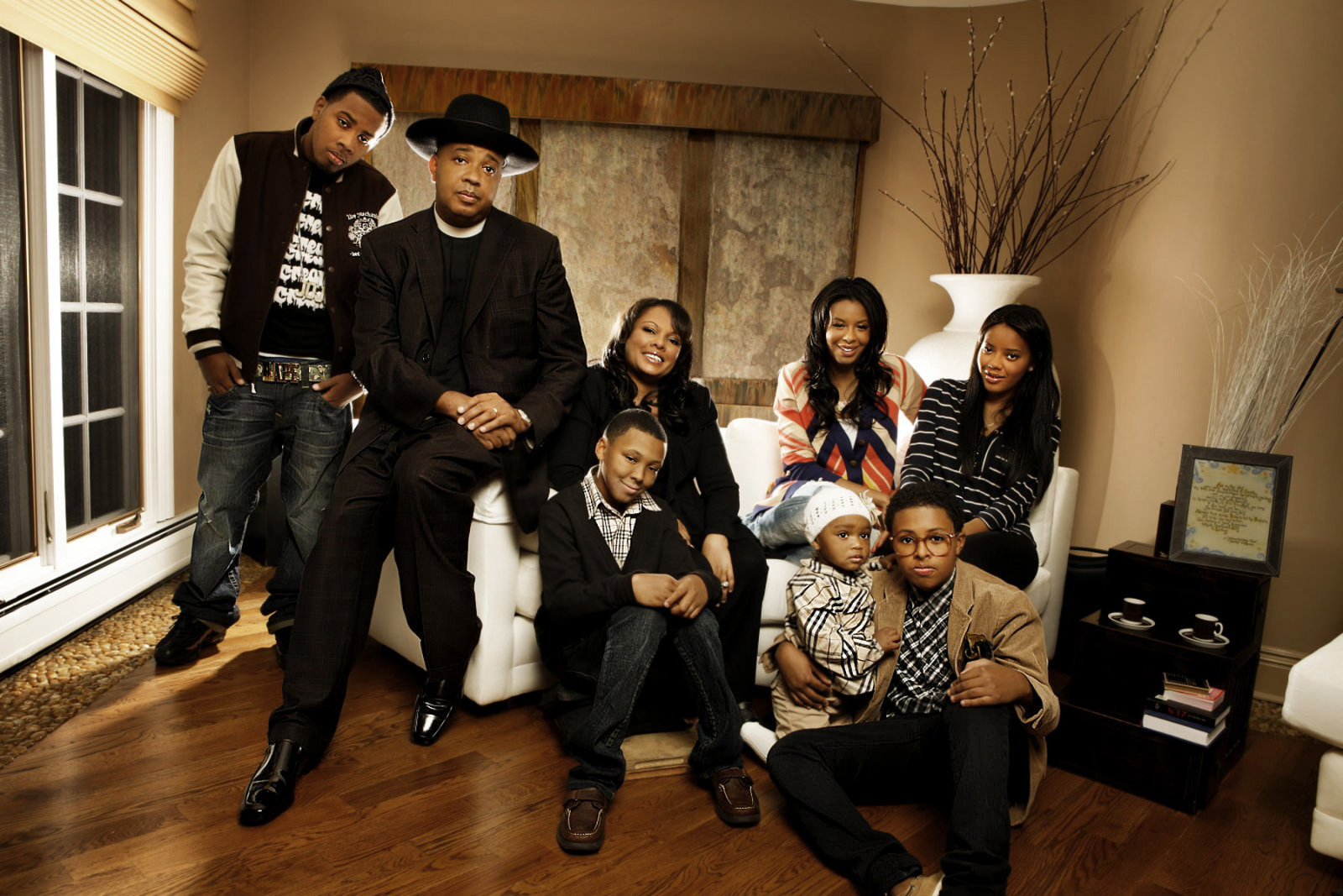 Rev Run and Justine Simmons: Family First