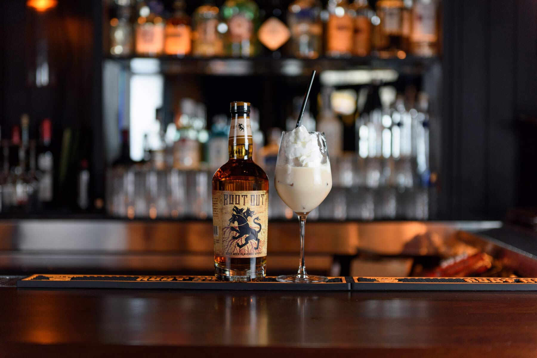 Root Out Whisky Float for the Holidays