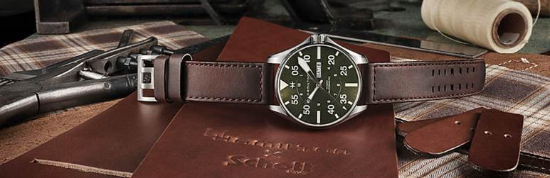 Hamilton x Schott NYC Launch Unique Limited Edition Pilot Watch