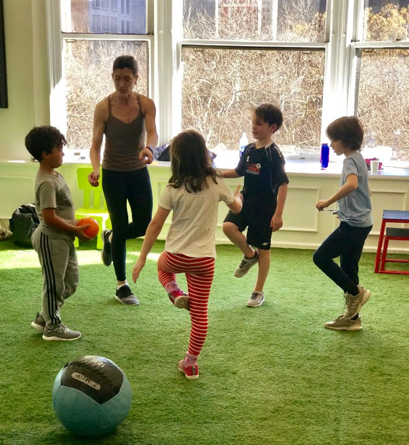 Kids' Fitness Class At Iconoclast Fitness