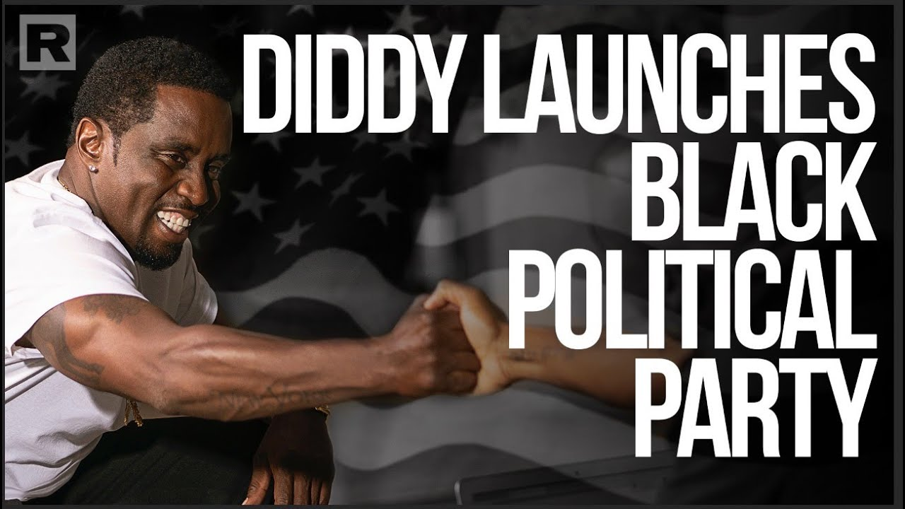 Diddy Creates and Political Party and Talks to Charlamagne Tha God about Trump and Biden.